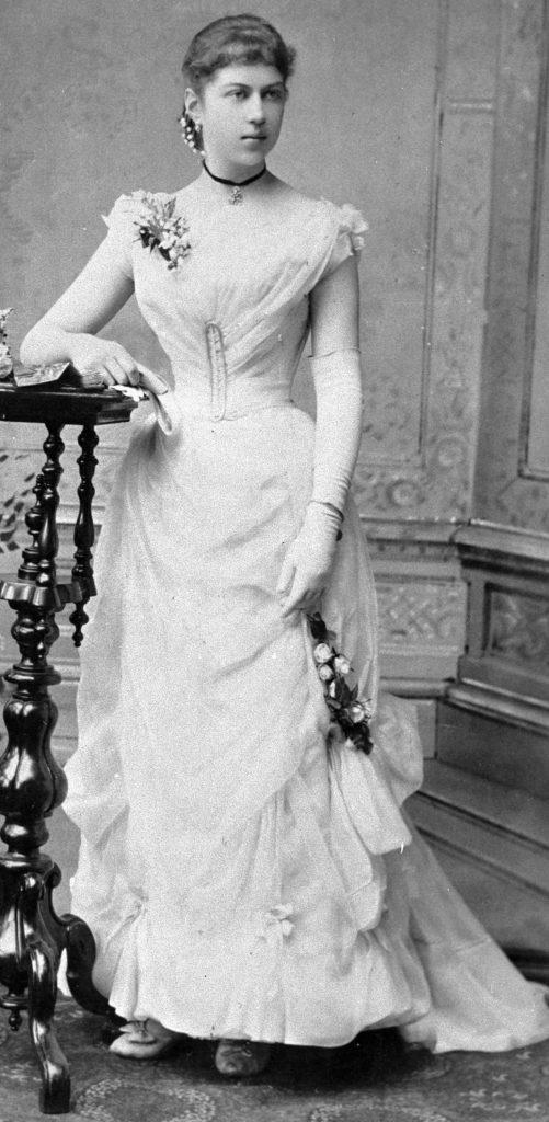 Young Alexandra Kollontai